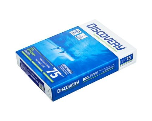Бумага для принтера Discovery А4 75 г/кв.м белизна 161 % CIE 500 листов - (664100К)