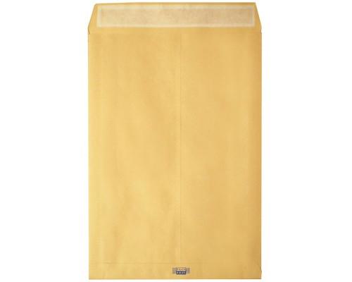 Пакет почтовый Largepack С4 из крафт-бумаги с расширением стрип 229х324 мм 100г/кв.м 200 штук в упаковке - (214687К)