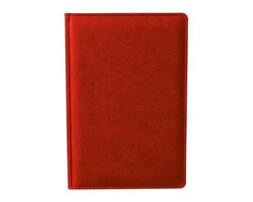 Ежедневник недатированный Attache Сиам А6 176 листов красный 110x155 мм - (209645К)