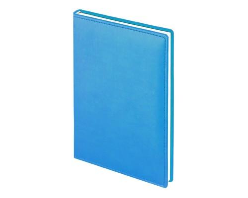 Ежедневник недатированный Attache Velvet искусственная кожа А5 160 листов бирюзовый 140х200 мм - (556035К)