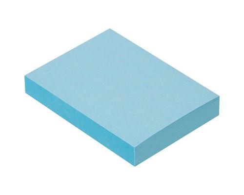 Клейкие листки 38x51 мм голубые пастельные 100 листов - (359818К)