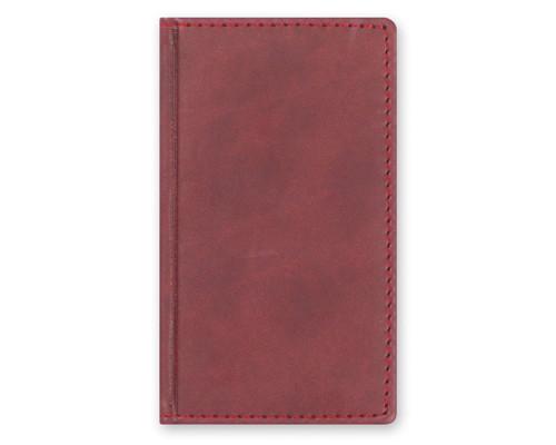 Телефонная книга Attache Вива искусственная кожа А6 96 листов бордовая 85х145 мм - (105982К)