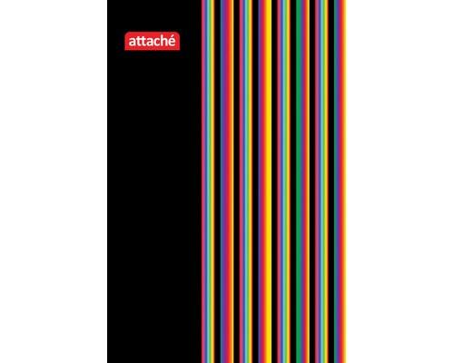 Блокнот Attache А7 40 листов в ассортименте в клетку на евроспирали 105х70 мм - (132002К)