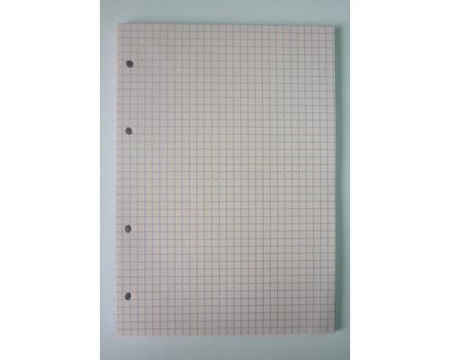 Сменный блок для тетрадей А5 50 листов розовый клетка - (416801К)
