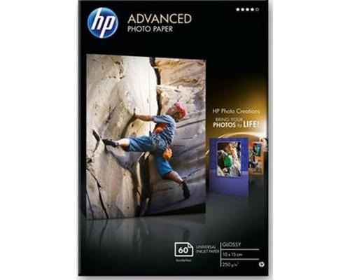 Фотобумага HP Q8008A Photo глянцевая 10х15 240 г/кв.м 60 листов - (280042К)