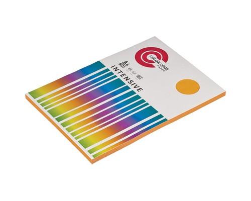 Бумага цветная ColorCode Intensive А4 оранжевая 80 г/кв.м 100 листов - (473439К)
