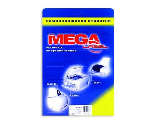 Этикетки самоклеящиеся ProMega Label белые 210х148 мм 2 штуки на листе А4 25 листов в упаковке - (75187К)