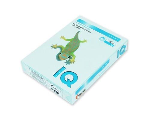 Бумага цветная IQ Color A4 80 г/кв.м BL29-светло-голубой 100 листов - (78416К)