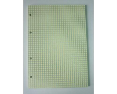 Сменный блок для тетрадей А5 50 листов желтый клетка - (416800К)