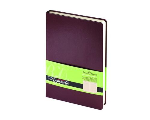 Ежедневник недатированный Bruno Visconti Megapolis А5 160 листов коричневый 145x215 мм - (313935К)
