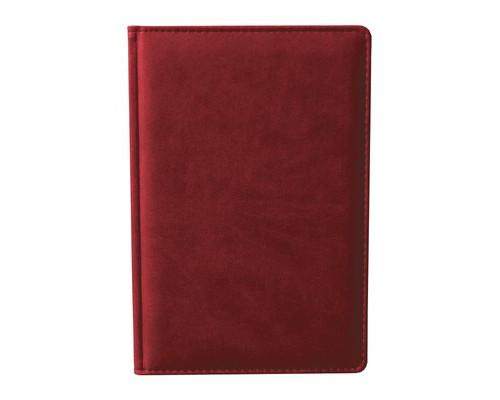 Ежедневник недатированный Attache Сиам А6 176 листов бордовый 110x155 мм - (209642К)