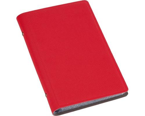 Визитница настольная Attache Selection фактурный PU на 96 визиток красная - (455462К)