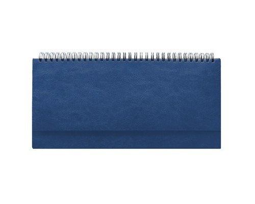 Планинг недатированный Attache Agenda 64 листа синий 290х150 мм - (556055К)