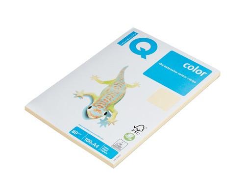 Бумага цветная IQ Color A4 80 г/кв.м CR20-кремовый 100 листов - (78410К)