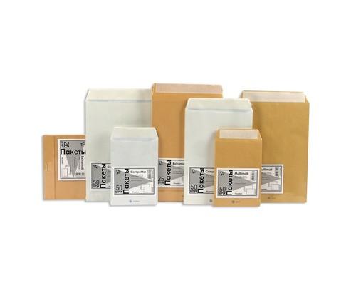 Пакет почтовый C4 из офсетной бумаги декстрин 229х324 мм 100 г/кв.м 200 штук в упаковке - (76434К)
