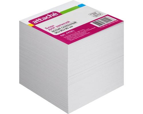 Блок-кубик Attache на склейке белый 90х90х90 мм - (44581К)