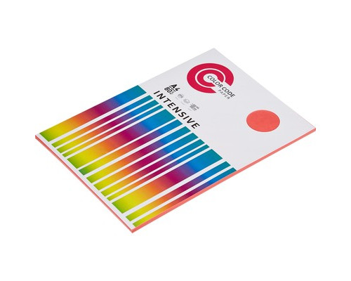 Бумага цветная ColorCode Intensive А4 розовая 80 г/кв.м 50 листов - (473354К)