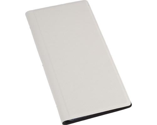 Визитница настольная Attache Selection фактурный PU на 128 визиток белая - (455464К)