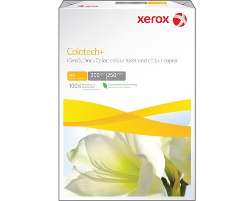 Бумага для цветной лазерной печати Xerox Colotech+ А4 200 г/кв.м 170% CIE 250 листов - (24842К)