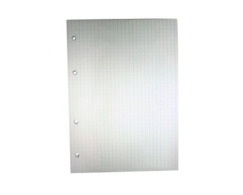 Сменный блок для тетрадей A5 50 листов белый клетка - (406730К)