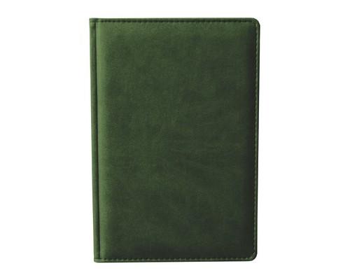 Ежедневник недатированный Attache Сиам А6 176 листов зеленый 110x155 мм - (209644К)