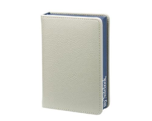 Ежедневник недатированный In my style искусственная кожа А6 144 листа серый синий обрез 100x140 мм - (385332К)