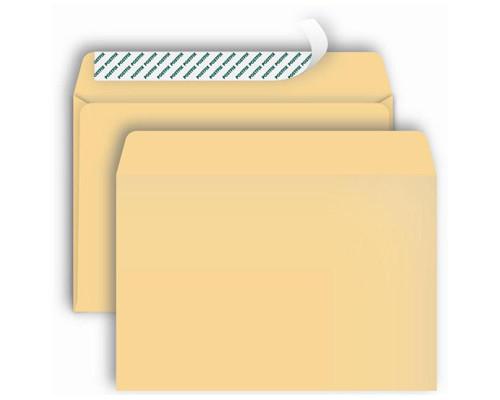 Конверт почтовый Postfix Bong C4 229x324 мм глянцевый крафт удаляемая лента 250 штук в упаковке - (269731К)