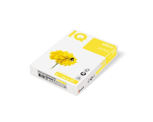 Бумага для принтера IQ Ultra А4 80 г/кв.м белизна 168% CIE 500 листов - (467741К)