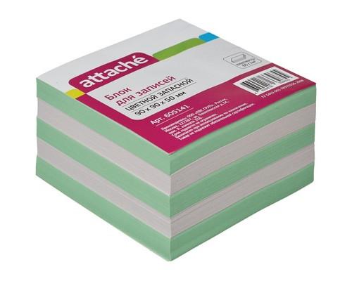 Блок-кубик Attache запасной цветной 90х90х50 мм - (605141К)