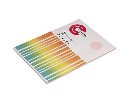 Бумага цветная ColorCode Pastel А4 розовая 80 г/кв.м 50 листов - (473345К)