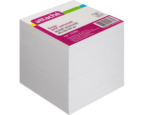 Блок-кубик Attache запасной белый 90х90х90 мм - (32389К)