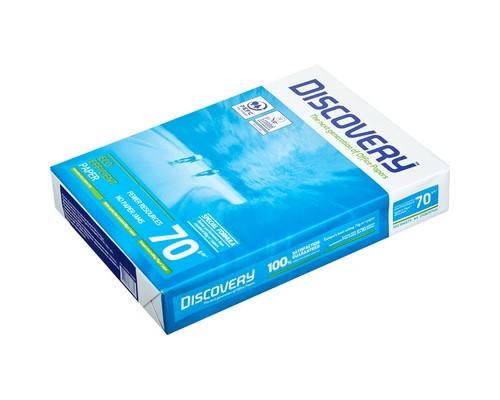 Бумага для принтера Discovery А4 70 г/кв.м белизна 161 % CIE 500 листов - (664101К)