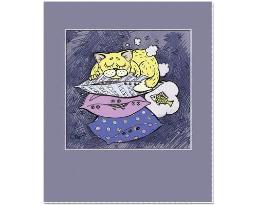 Тетрадь общая №1School Сладкие сны А5 48 листов клетка на скрепке - (451848К)