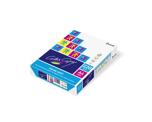 Бумага для цветной лазерной печати Color Copy А4 220 г/кв.м 161% CIE 250 листов - (65188К)
