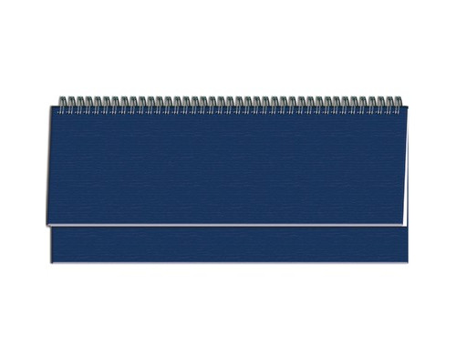 Планинг недатированный Attache бумвинил 56 листов синий 300x135 мм - (206277К)