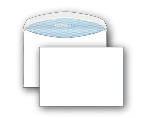 Конверт почтовый DirectPost С5 162x229 мм белый с клеем автомат 1000 штук в упаковке - (76400К)