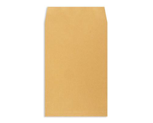 Пакет почтовый Extrapack E4 из крафт-бумаги стрип 300x400x40 мм 120 г/кв.м 250 штук в упаковке - (76442К)