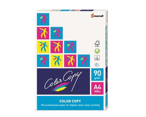 Бумага для цветной лазерной печати Color Copy А4 100 г/кв.м 161% CIE 500 листов - (65184К)