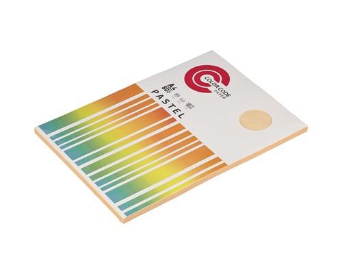 Бумага цветная ColorCode Pastel А4 персиковая 80 г/кв.м 100 листов - (473349К)