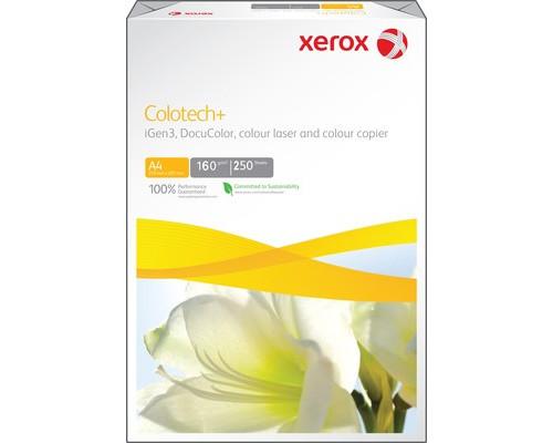 Бумага для цветной лазерной печати Xerox Colotech+ А4 160 г/кв.м 170% CIE 250 листов - (24841К)