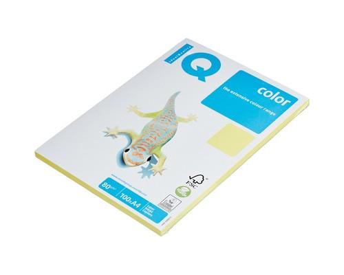 Бумага цветная IQ Color A4 80 г/кв.м ZG34-лимонно-желтый 100 листов - (78412К)