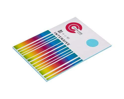 Бумага цветная ColorCode Intensive А4 голубая 80 г/кв.м 50 листов - (473352К)