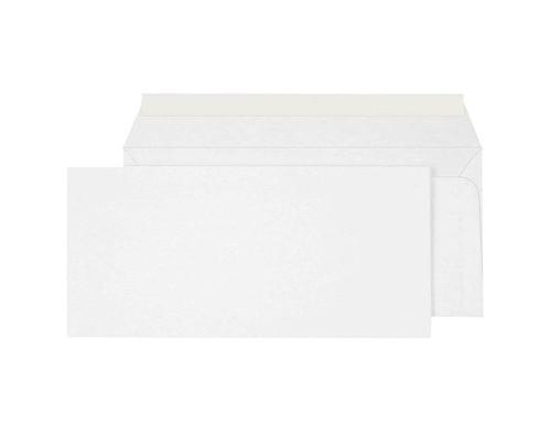 Конверт почтовый Ecopost E65 110x220 мм белый удаляемая лента 1000 штук в упаковке - (257246К)