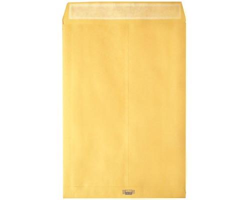 Пакет почтовый Largepack E4 из крафт-бумаги с расширением стрип 300x400 мм 120г/кв.м 200 штук в упаковке - (214689К)
