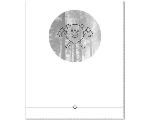 Тетрадь общая №1School Наследие викингов А5 48 листов клетка на скрепке - (451859К)