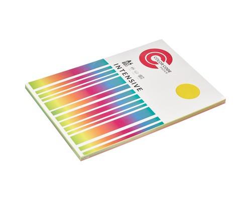 Бумага цветная ColorCode Intensive А4 микс 80 г/кв.м 5 цветов по 20 листов - (569700К)