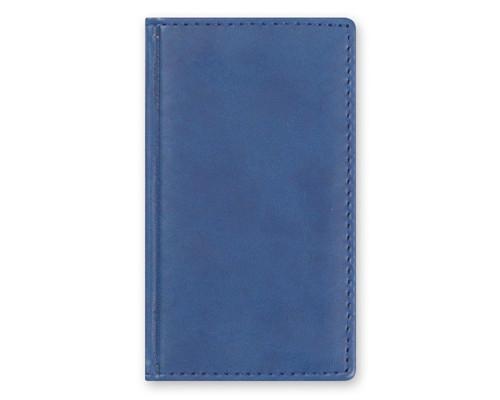 Телефонная книга Attache Вива искусственная кожа А6 96 листов синяя 85х145 мм - (105983К)