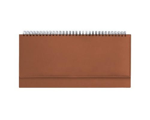 Планинг недатированный Attache Velvet 64 листа коричневый 290х150 мм - (556040К)