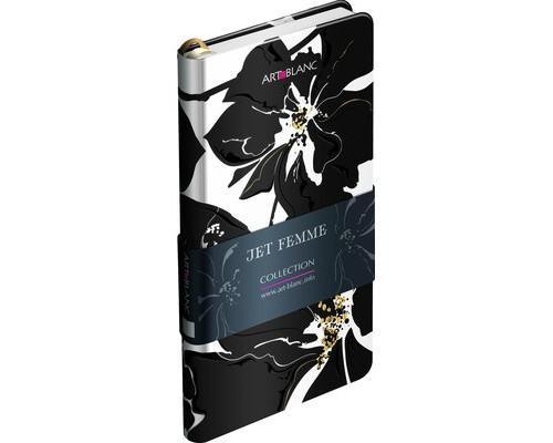 Телефонная книга Art-Blanc Jet Femme плотный картон А7 96 листов цветная 85х160 мм - (476230К)