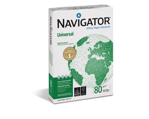 Бумага для принтера Navigator Universal А4 80 г/кв.м белизна 169% CIE 500 листов - (664098К)